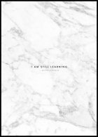 I am Still Learning, Affiche