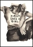 Fight like a Girl, Affiche