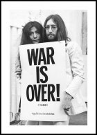 War is Over John Lennon, Affiche