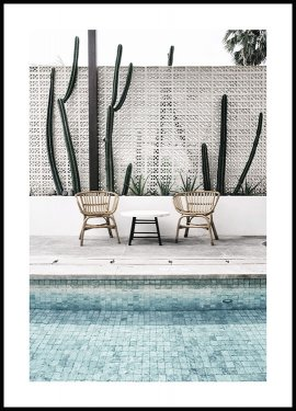 By the Pool, Affiche