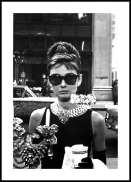 Breakfast at Tiffany's Affiche