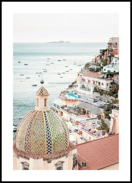 Amalfi Seaside Poster