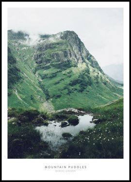 Mountain Puddles, Poster