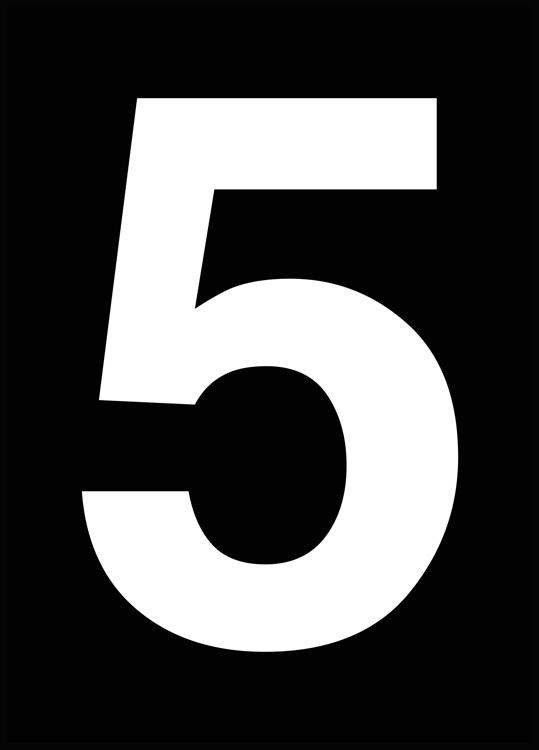 The 5, Affiche