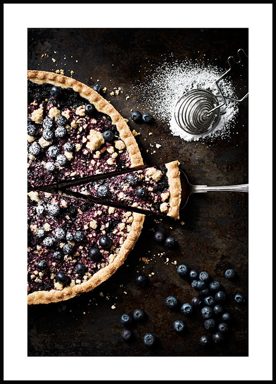 Blueberry Pie, Affiche