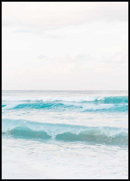Beach Wave, Poster