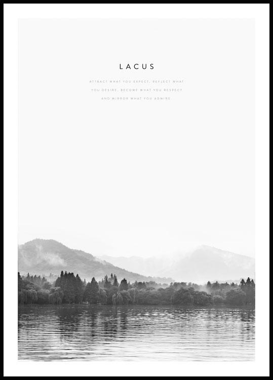 Lac, Poster