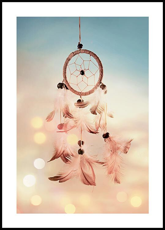 Dreamcatcher feathers, Affiche