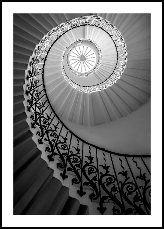 Tulip Stairs, Poster